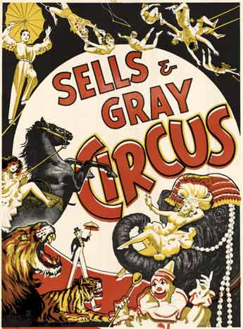 Sells & Gray Circus, Anonymous Artists