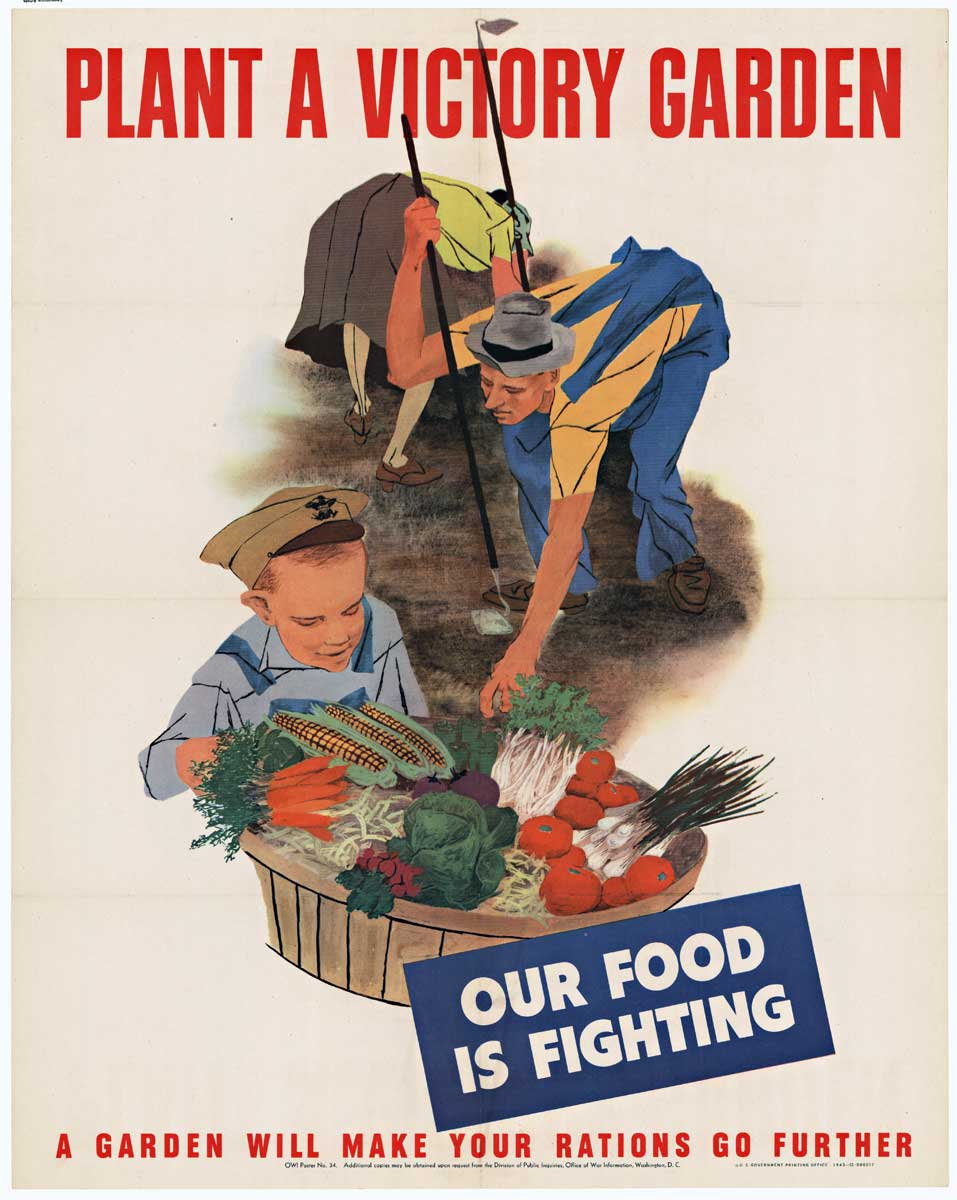 Plant a Victory Garden (Small), Anonymous Artists
