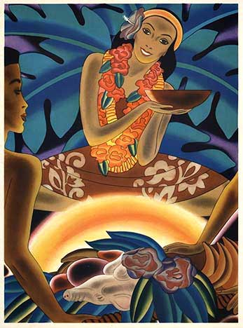 Hawaii - The Luau, Frank Macintosh