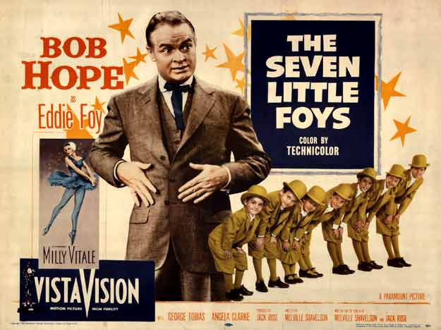 The Seven Little Foys, Bob Hope