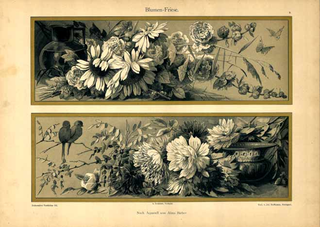 Blumen -  Friese, Anonymous Artists