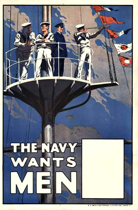 The Navy Wants Men, Anonymous Artists
