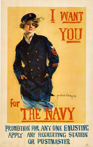I Want You for the Navy, Howard Chandler Christy