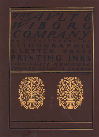 The Ault & Wiborg Co. Printing Inks, Will  (William) H. Bradley