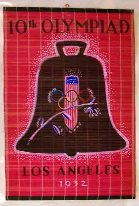 Anonymous Artists - 10th Olympiad- Liberty Bell Olympics border=