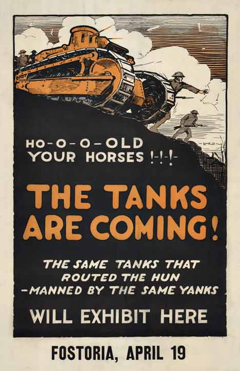 The Tanks are Coming!, Lenz