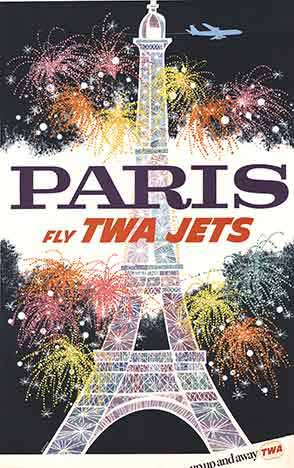 Paris Fly TWA Jets, David Klein