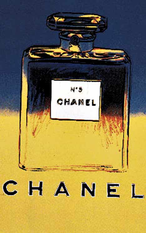 Chanel No 5 Blue/ Yellow (S), Andy Warhol