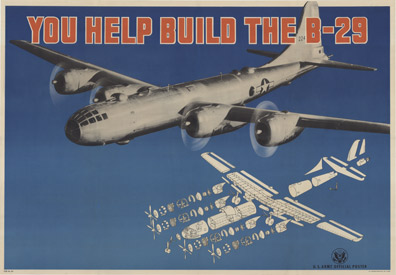 Anonymous Artists - You Help Build the B-29 border=