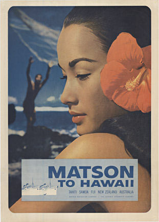 Matson to Hawaii, Anonymous Artists