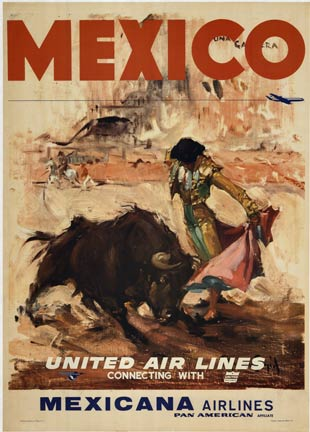 Mexico- Untied Air Lines, Carlos Ruano- Llopis