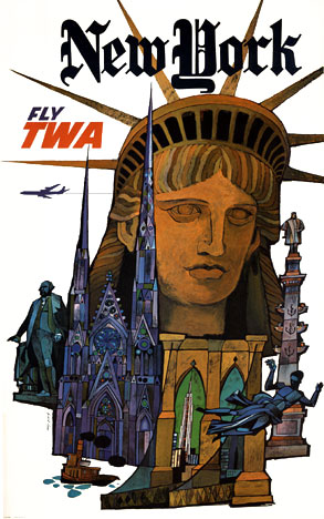 David Klein - New York Fly TWA border=