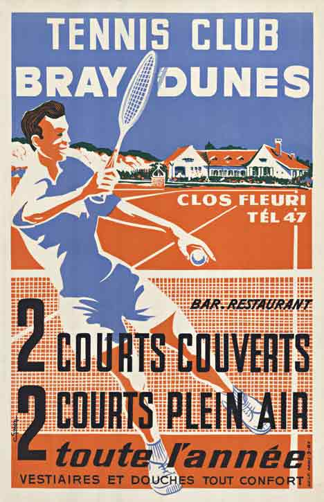 Tennis Club Bray Dunes, C Guion