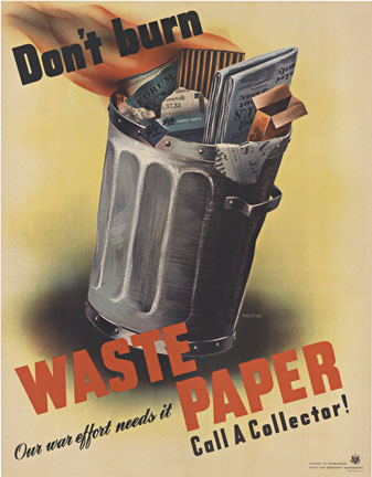 Rabkin - Don't Burn Waste Paper border=