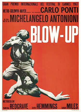 Blow - Up, Anonymous Artists