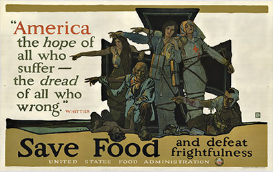 Save Food and defeat frightfulness, Herbert Paus