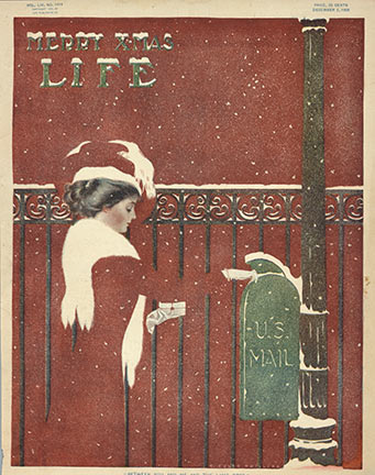 C. Coles Phillips - Life Merry Xmas border=