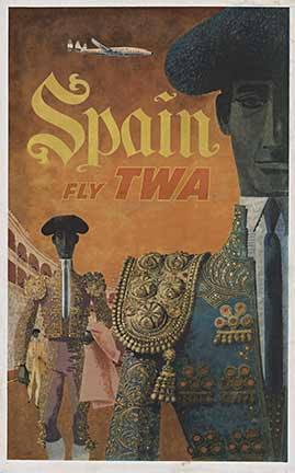 Spain Fly TWA, David Klein