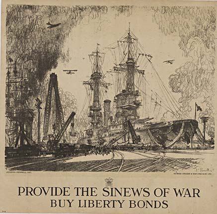 Provide the Sinew of War, Joseph Pennell