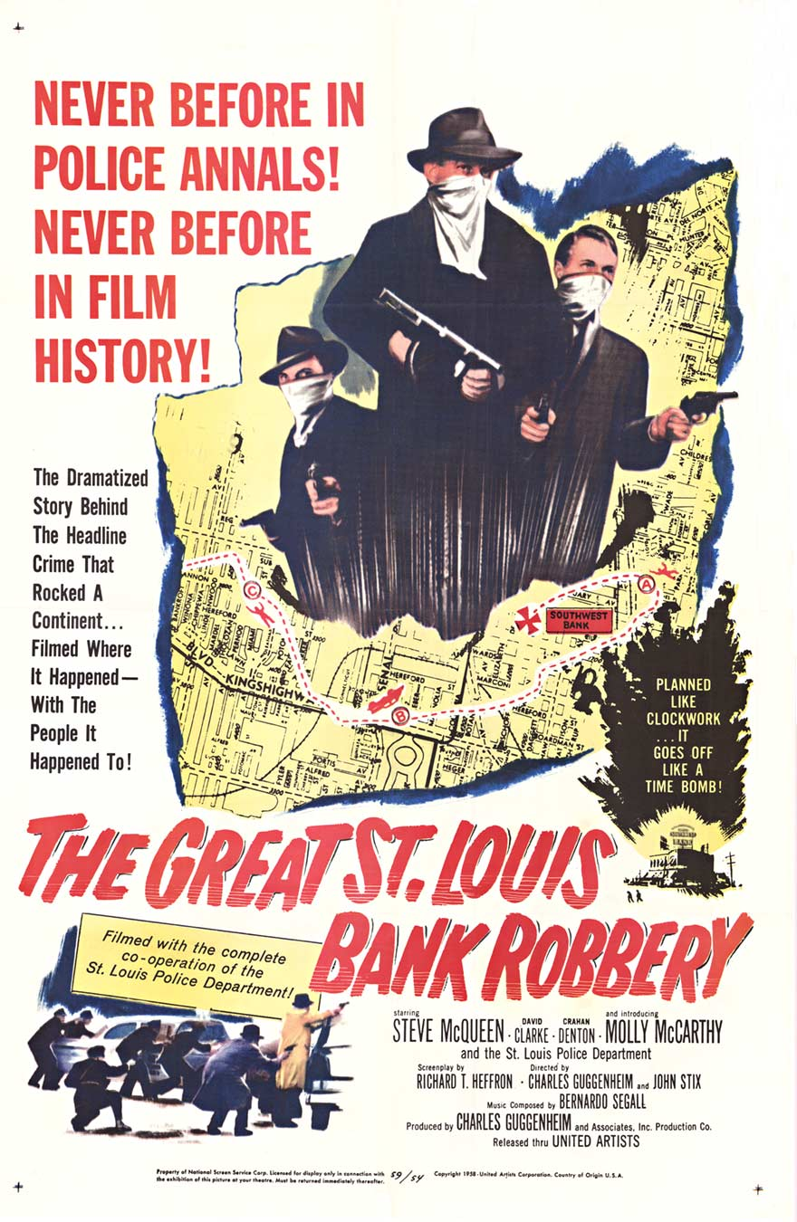 Anonymous Artists - The Great St. Louis Bank Robbery border=
