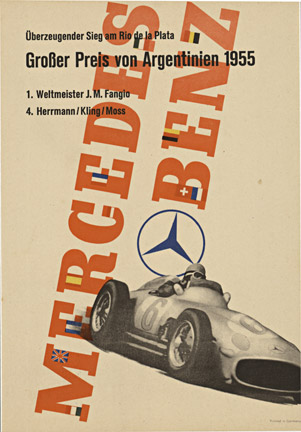 Mercedes Benz -Argentinien 1955, Anonymous Artists