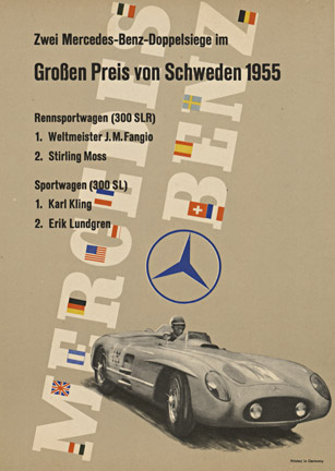 Anonymous Artists - Mercedes Benz Schweden 1955 border=