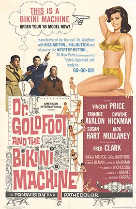 Dr. Goldfoot and the Bikini Machine, Anonymous Artists