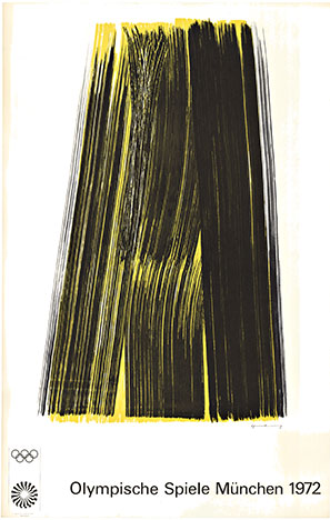 Munich 1972 Olympic Games, Hans Hartung