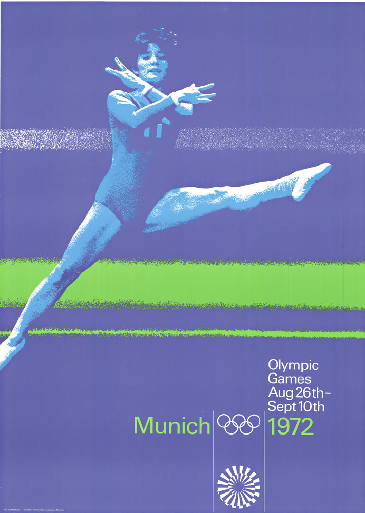 Anonymous Artists - Munich Olympics 1972 - Gymnastics border=