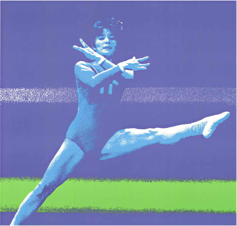 Anonymous Artists - Munich Olympics 1972 - Gymnastics
