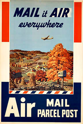 Melbourne Brindle - Mail it Air Everywhere border=