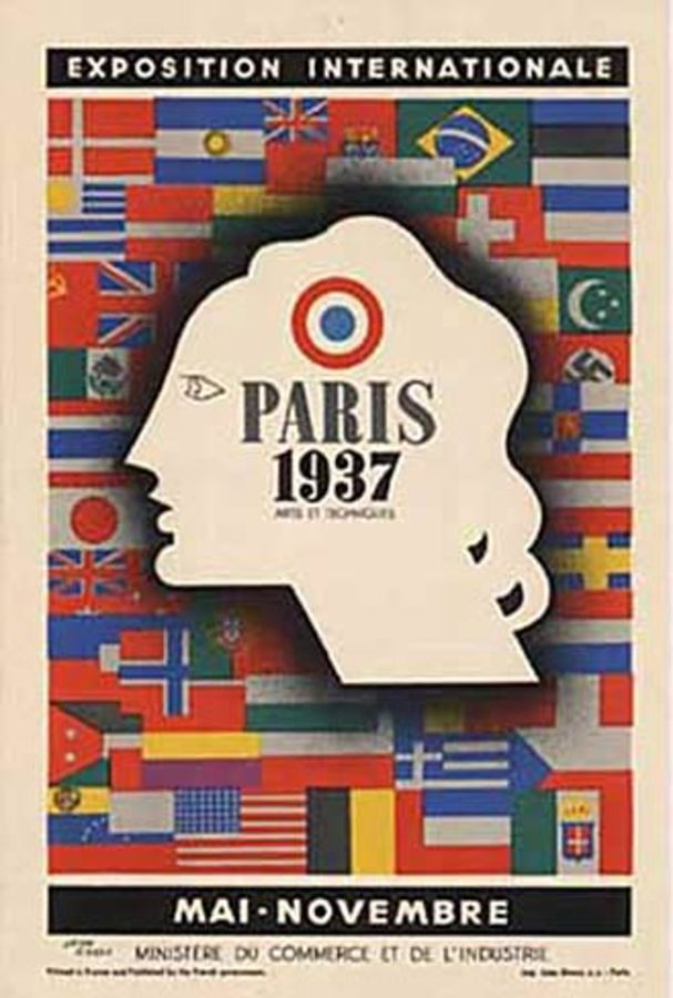 Paris 1937 - Exposition Internationale, Jean Carlu