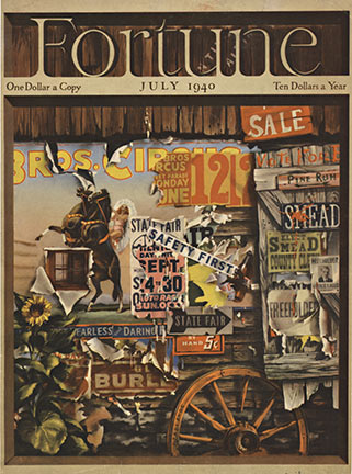 Fortune Magazine Cover, A Zaalburg