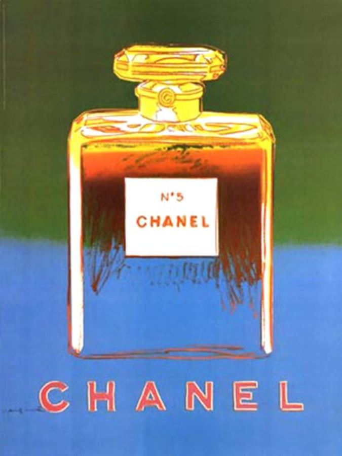 Andy Warhol - Chanel No 5 Green/ Teal (S) border=