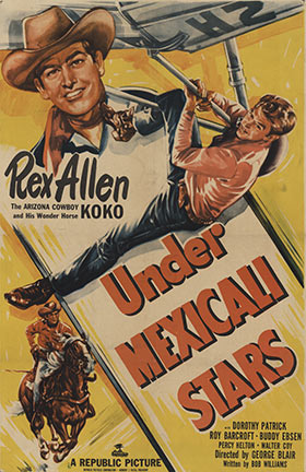 Anonymous Artists - Under Mexicali Stars - Rex Allen border=