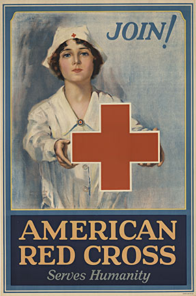 Join! American Red Cross, Lawrence Nelson Wilbur