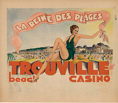 Trouville Beach Casino, Arte