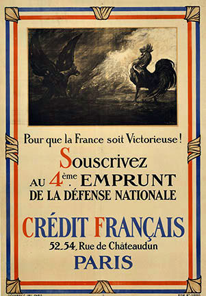 Credit Francais - 4th Emprunt, Anonymous Artists
