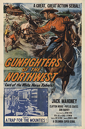 GUNFIGHTERS of the NORTHWEST 1954 Chapter 1, Anonymous Artists