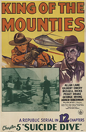 KING of the MOUNTIES 1942 Chapter 5, Anonymous Artists
