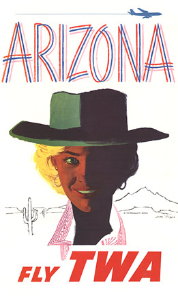 ARIZONA - Fly TWA, Austin Briggs