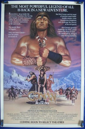 CONAN the DESTROYER, Anonymous Artists