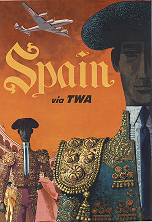Spain via TWA, David Klein