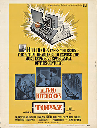 Topaz - Alfred Hitchcock, Anonymous Artists