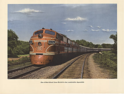 Rock Island Railway, Anonymous Artists