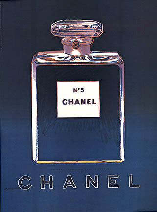 Chanel No 5 Black / Violet (S), Andy Warhol