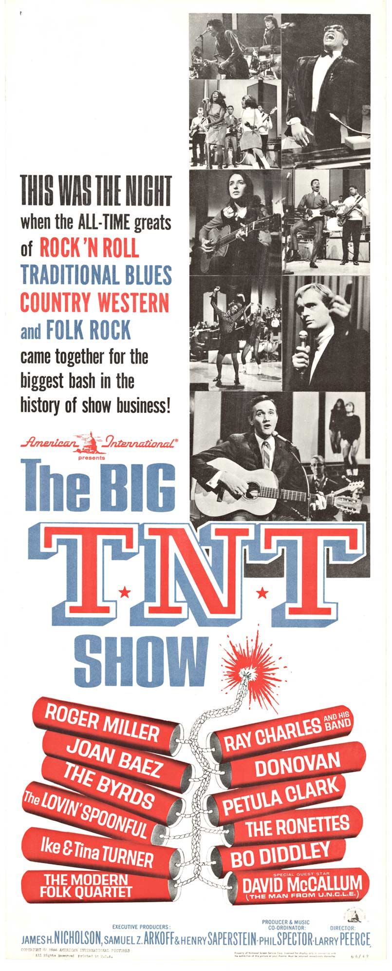 The Big TNT Show, Anonymous Artists