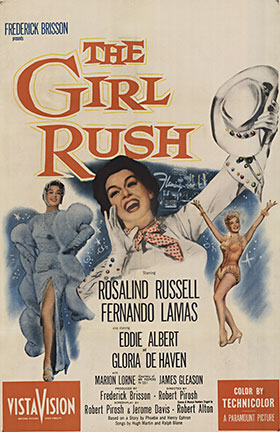 The Girl Rush, Anonymous Artists