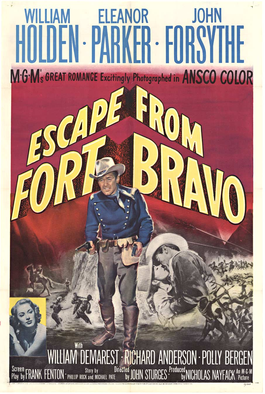 Escape from Fort Bravo, Anonymous Artists