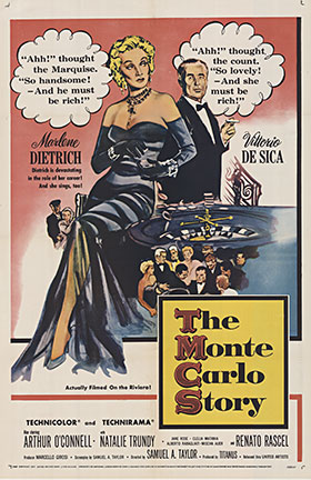 The Monte Carlo Story, Anonymous Artists